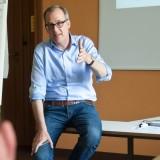 Johannes Merck, CSR-Verantwortlicher der Otto Group und Dozent in M2 Nachhaltigkeitspositionierung und M5 Umsetzung einer Nachhaltigkeitsstrategie.