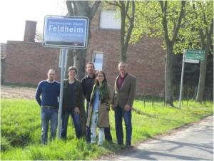 """Exkursion der Studierenden mit Prof. Dr. Peter Schmuck im Modul 6 Prozesskompetenz in das """"Energiedorf"""" Feldheim"""