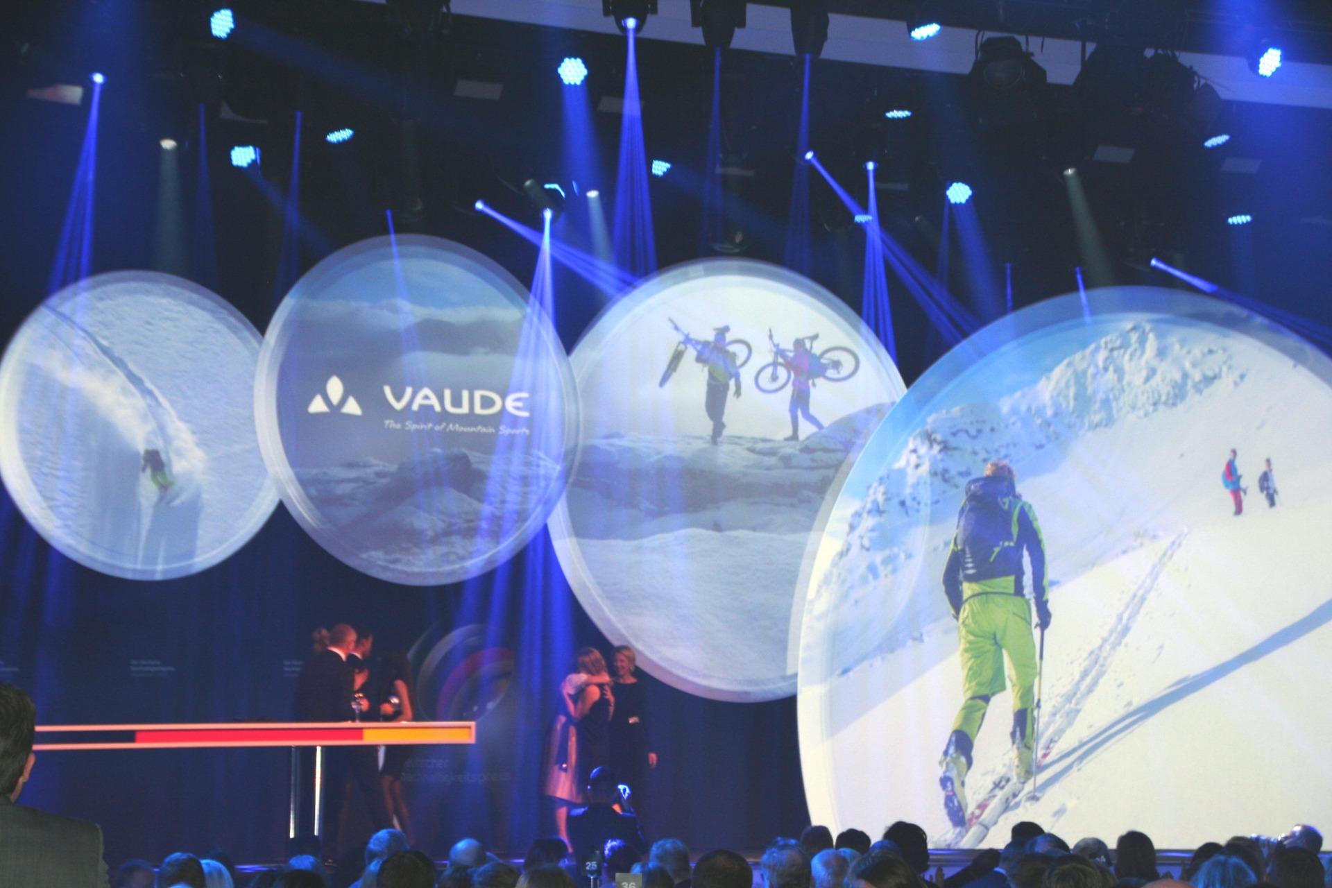 """Als """"nachhaltigste Marke"""" überzeugte VAUDE. Der Mittelständler aus Baden-Württemberg entwickelt, produziert und vertreibt Outdoor-Sportartikel unter Berücksichtigung sehr hoher Nachhaltigkeitsstandards."""