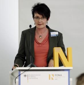 Bei der FONA Workshop A2: Kerstin Kräusche, Hochschule für nachhaltige Entwicklung Eberswalde