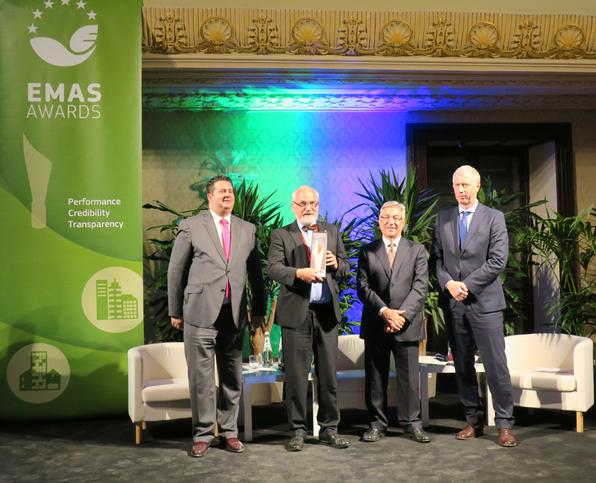 HNE Eberswalde gewinnt EMAS Award 2017